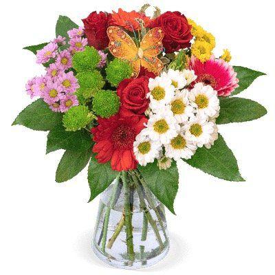 Blumenstrauß Beste Mama mit verschiedenen Blumen zum Muttertag für 25,38€   Lieferung leider Montag!