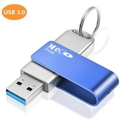 MECO ELEVERDE USB3.0 Stick mit 64GB aus Aluminium mit Schlüsselring für 9,49€ (statt 19€)   Prime