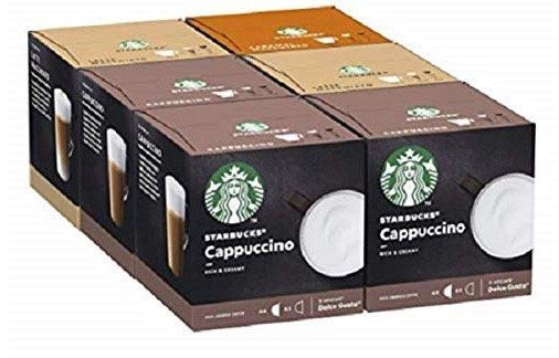 36 Starbucks Milchkaffee Getränke in verschiedenen Sorten für 14,99€ (statt 25€)