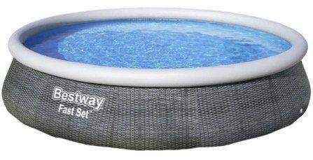 Bestway Pool Fast Set mit Filterpumpe 396 x 84 cm für 93,94€ (statt 123€)
