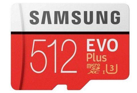 Samsung EVO Plus (2017) microSDXC 512GB für 74,98€ (statt 99€)