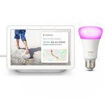 Google Nest Hub + Philips Hue White & Color Ambiance E27 Bluetooth Leuchte ab 94,95€(statt 131€)