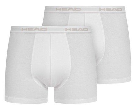 2er Pack HEAD Basic Herren Boxershorts in Weiß für 6,17€ (statt 12€)   nur S, M