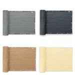Balkon-Sichtschutz 500x90cm aus HDPE-Material in verschiedenen Farben für 19,90€ (statt 25€)