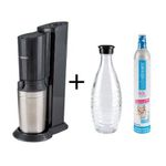 SodaStream Crystal 2.0 mit 1 Glaskaraffe inkl. Kohlensäurezylinder für 79,99€ (statt 96€)