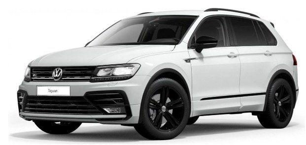 🔥 Gewerbe: VW Tiguan R Line Edition Black Style 2.0 TDI 4Motion inkl. DSG mit 190PS für 129€ netto   LF 0,40