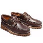 Timberland Authentics Handsewn 3 Eye Classic Boots-Halbschuhe in Braun für 89,99€ (satt 115€)