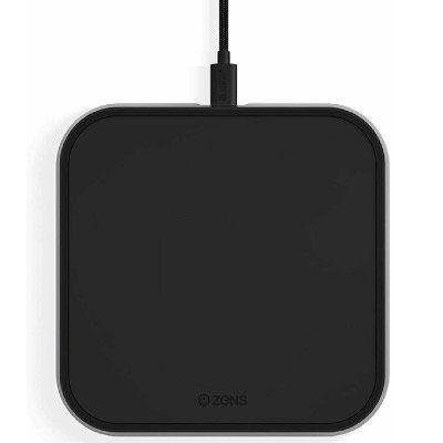 ZENS Single Wireless Aluminium Qi Ladegerät mit 10Watt für 14,90€ (statt 30€)