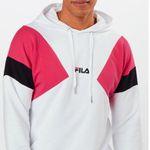 FILA Sweatshirt Bade in Pink-Schwarz-Weiß mit Kapuze für 29,94€ (statt 64€)