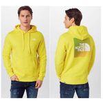 The North Face Herren Sweatshirt Graphic mit Kapuze in Gelb für 40,53€ (statt 75€)