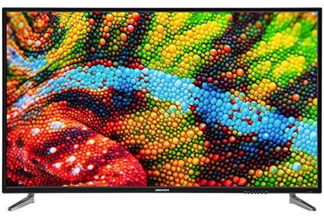 Medion P15001   50 Zoll UHD Fernseher (Modell 2020) für 239,95€ (statt 300€)
