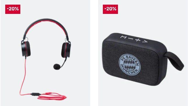 FC Bayern Gamingzubehör mit 20% Rabatt + keine VSK ab 60€   z.B. Laptoptasche für 31,96€ (statt 46€)