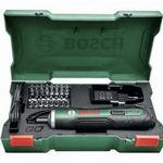 Ausverkauft! Bosch PushDrive Akkuschrauber inkl. Bohreinsatz-Set für 34,90€ (statt 48€)