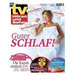 26 Ausgaben TV Hören & Sehen für 59,80€ + Prämie: 60€ Amazon Gutschein
