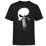 Marvel The Punisher Paintspray Damen & Herren T-Shirt für je 10,99€ (statt 22€)