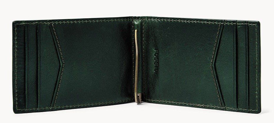 Fossil Herren Geldbörse Ronnie mit RFID Schutz inkl. gratis Prägung für 23€ (statt 28€)