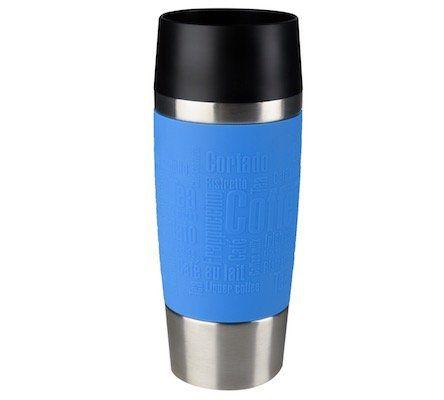 Emsa Isolierbecher Travel Mug mit 0,36 Liter in Blau ab 10,91€ (statt 16€)   Lieferung in Filiale