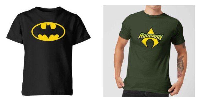Batman oder Aquaman Hausschuhe + T Shirt für nur 14,99€ (statt 25€)