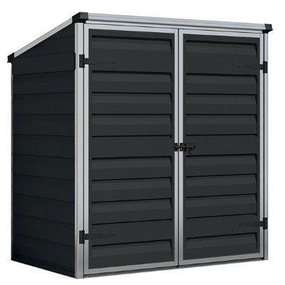 Palram Gartenschrank und Gerätebox Voyager in Midnight oder Grau für 169,99€ (statt 230€)