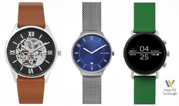 Skagen Herrenuhren mit 20% Rabatt   z.B. Smartwatch Falster SKT5114 für 143€ (statt 179€)
