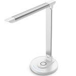 TaoTronics TT-DL036 LED-Schreibtischlampe 12W mit Qi-Ladestation für 28,99€ (statt 46€)