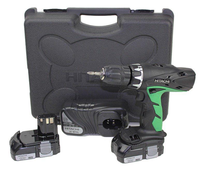 Hitachi DV 18DCL2 Akku Schlagbohrschrauber inkl. 2 Akkus für 103,90€ (statt 134€)