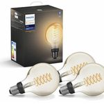 3er Pack Philips Hue White LED E27 Globe G93 Filament für 59,95€ (statt 80€)