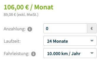 Vorbei! BMW 118i sDrive Advantage mit 140 PS im Leasing ab 89€ mtl. netto