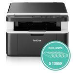 Abgelaufen! Brother DCP1612W 3-in-1 Laserdrucker mit WLAN inkl. 5 Toner für 139,90€ (statt 159€)