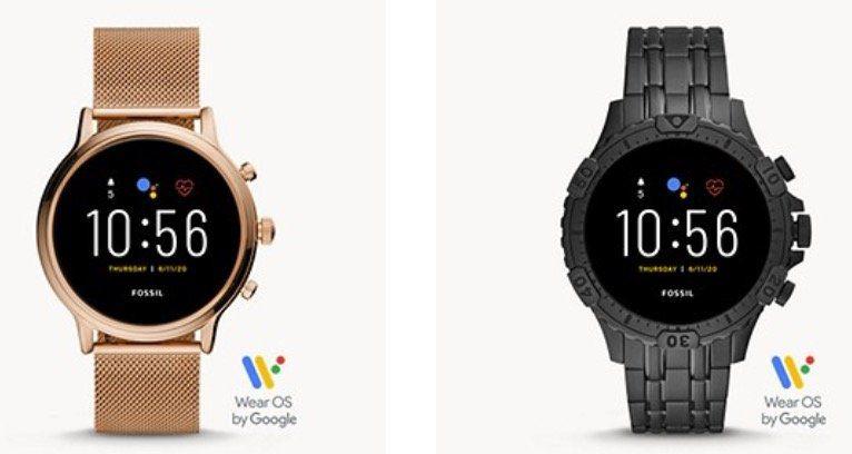 Nur noch bis Mitternacht! Fossil mit 30% Rabatt auf Smartwatches der 5. Generation   z.B. Garrett HR Edelstahl ab 177€ (statt 294€)