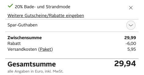2er Pack Champion Sweatshorts Bermuda DP für 29,94€(statt 50€)
