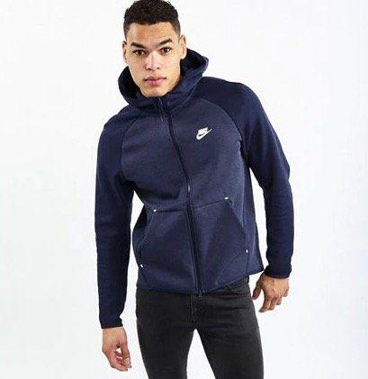 Nike Tech Fleece Colorblock Full Zip Herren Sweatjacke für 39,99€ (statt 55€)   M, L, XL