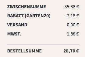 12er Pack Little Lunch Gartensuppen für 28,70€