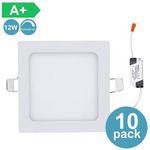 30% Rabatt auf LED-Einbauleuchten – z.B. 10er Pack 12W Ultraslim mit Trafo für 32,19€ (statt 46€)