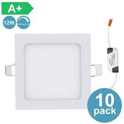 30% Rabatt auf LED Einbauleuchten   z.B. 10er Pack 12W Ultraslim mit Trafo für 32,19€ (statt 46€)