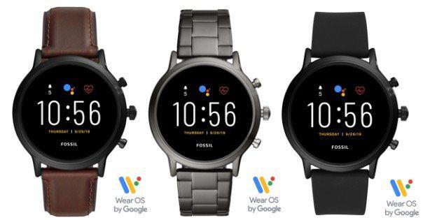 FOSSIL Smartwatch The Carlyle HR FTW4026 (5. Generation) für 209,30€ (statt 229€)