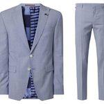 Bis 10 Uhr: Tommy Hilfiger Schurwolle Anzug mit Sakko + Anzughose für 262,47€ (statt 380€)