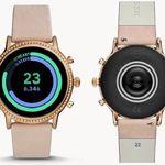 Fossil Julianna Damen Smartwatch mit Lederarmband für 209,30€ (statt 294€)