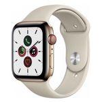 Vorbei! Apple Watch Series 5 GPS + LTE 44mm aus Edelstahl in Gold mit Sportarmband ab 545€ (statt 734€)
