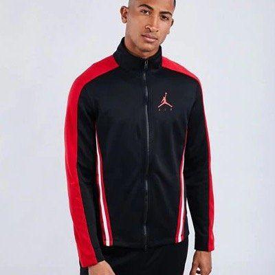 NIKE Jordan Jumpman Flight Suit Herren Basketballjacke in Schwarz für 39,99€ (statt 60€)   XS, XL und XXL