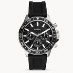 Fossil Bannon Multifunktions-Herrenuhr mit Silikon-Armband für 38€(statt 92€)