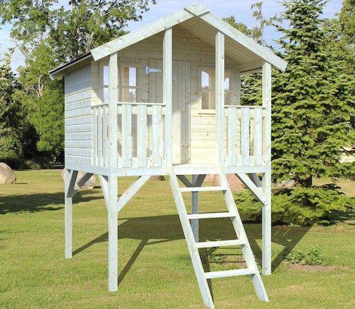 Palmako Spielturm Toby mit Holzleiter für 477,82€ (statt 550€)