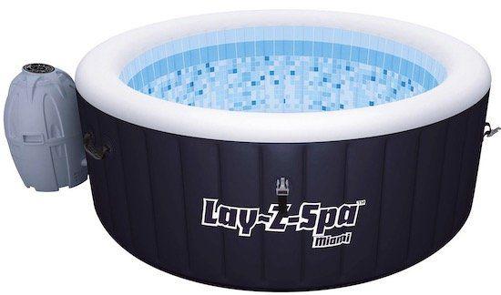 Bestway Lay Z Spa Miami AirJet Whirlpool mit 81 Massagedüsen für 284,99€ (statt 419€)