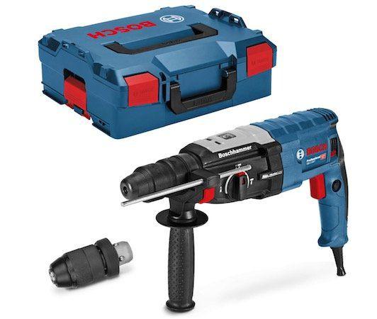 Bosch GBH 2 28 F Bohrhammer mit SDS plus Wechselfutter + Bohrer Set + L Boxx für 157,20€(statt 196€)
