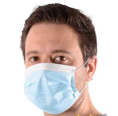 100er Pack Einweg Mund Nasen Schutzmasken für 40€ + gratis Nordcap Rucksack mit Kühlfach