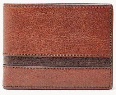 Fossil Herren Geldbörse Easton mit RFID Schutz für 20€ (statt 59€)