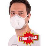 20x FFP2/KN95 Schutz-Masken für 40€ (nur 2€ pro Maske) + Nordcap Rucksack mit Kühlfach geschenkt