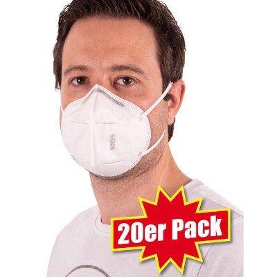 20x FFP2/KN95 Schutz Masken für 40€ (nur 2€ pro Maske) + Nordcap Rucksack mit Kühlfach geschenkt