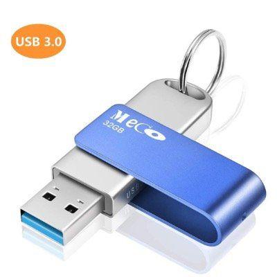 MECO ELEVERDE USB3.0 Stick mit 32GB aus Aluminium mit Schlüsselring für 6,99€ (statt 14€)   Prime