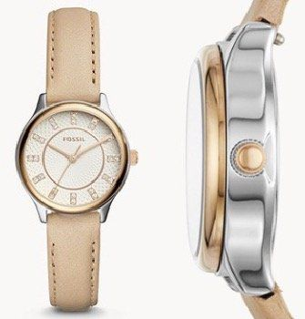 Fossil Modern Sophisticate Damenuhr mit Leder Armband für 38€(statt 93€)
